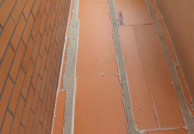 утеплення підлоги на балконі піноплексом або пінополістиролом