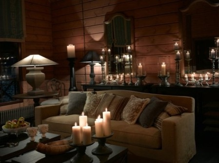 дизайн гостиной в стиле кантри фото