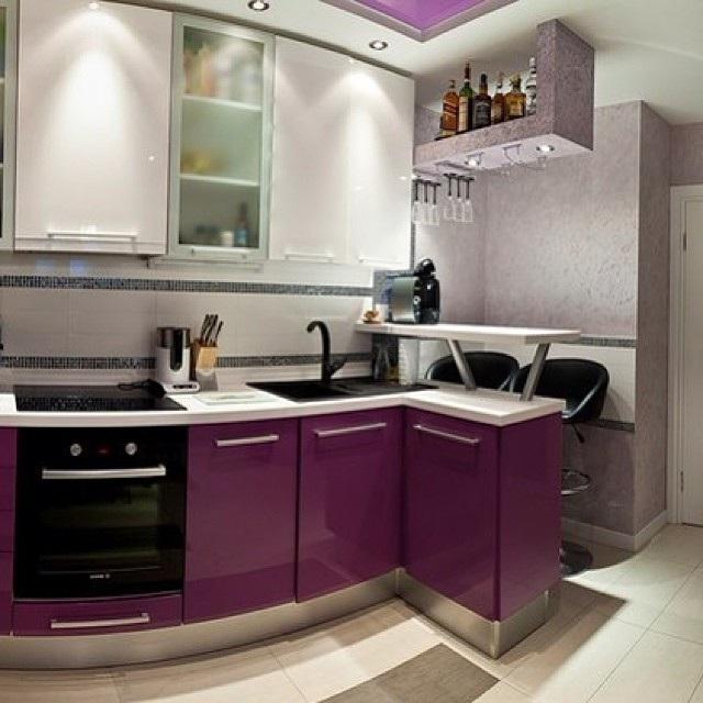 дизайн кухни в брежневке фото