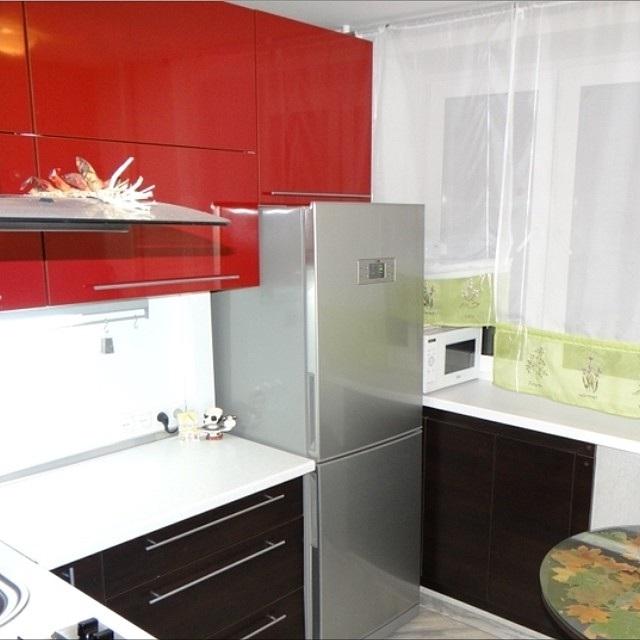ремонт кухні в брежнівці фото