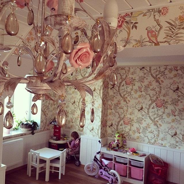 ремонт в дитячій кімнаті для дівчинки фото