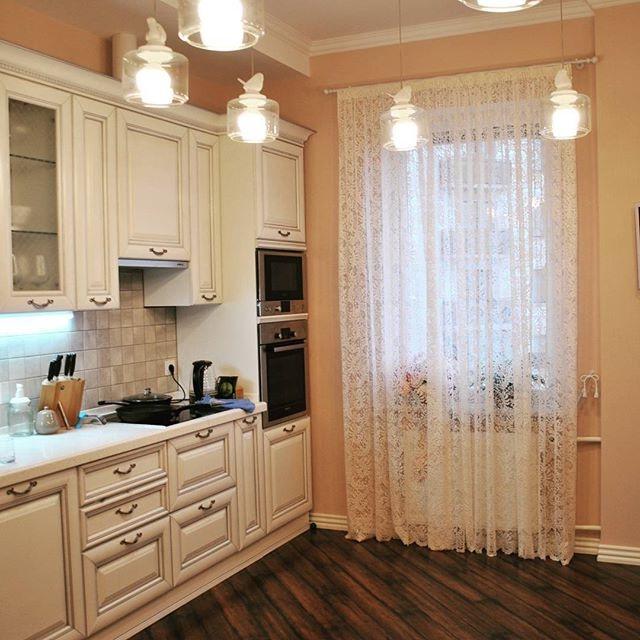 фіранки на кухню фото