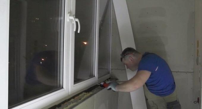 подоконник на балконе своими руками