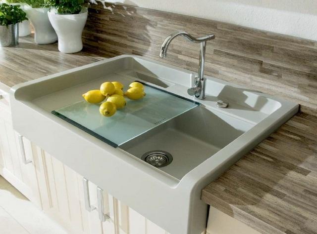 накладні мийки для кухні фото