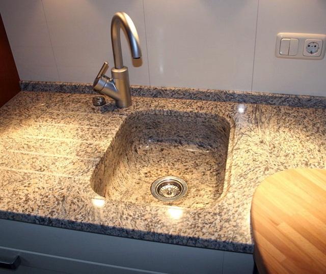 мийки для кухні гранітні фото