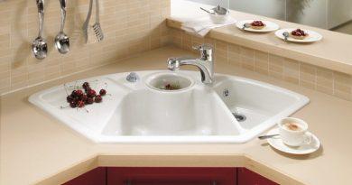 керамічні мийки для кухні фото