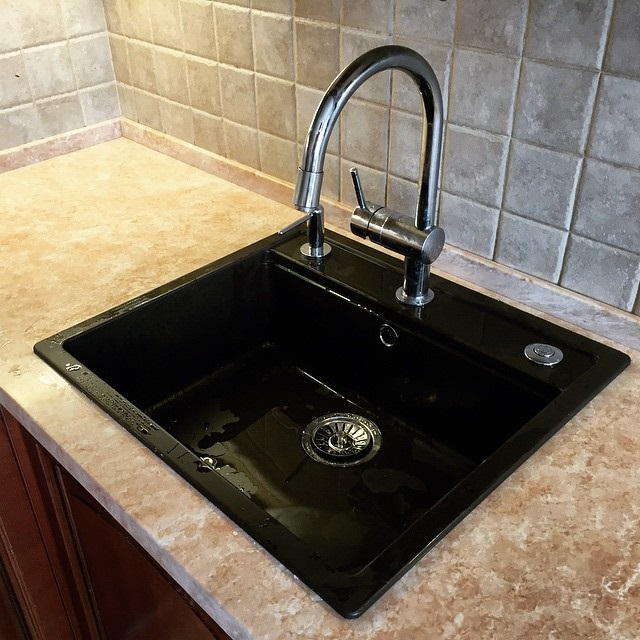врізні мийки для кухні фото