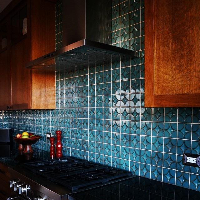 плитка для кухні на стіну фото