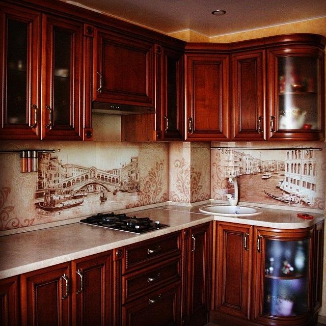 скинали для кухни венеция фото