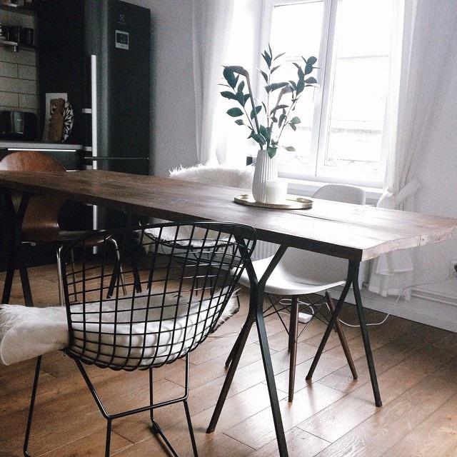 столы с мдф для кухни фото