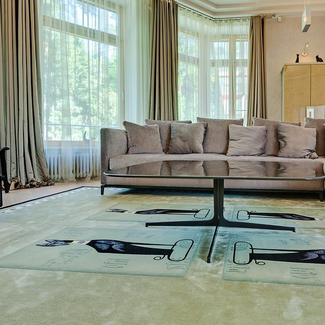 килим у вітальню фото