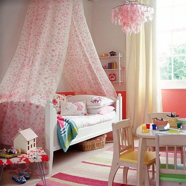 Полог над детской кроватью