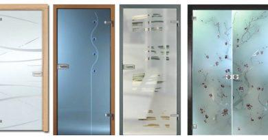 скляні двері для дому та офісу