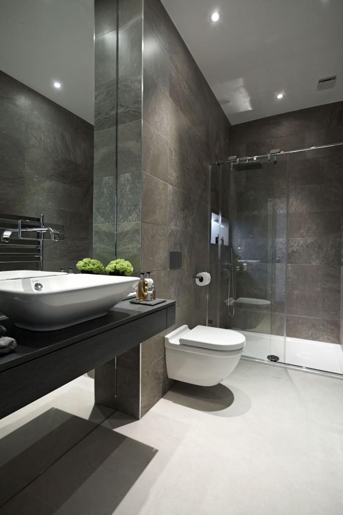 натяжна стеля у ванній фотогалерея
