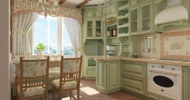 інтер'єр кухні в стилі прованс фото