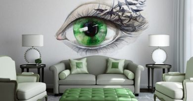 малюнки на стінах у вітальні фото