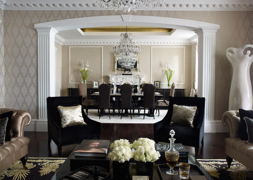 колоніальний стиль в інтер'єрі квартири фото