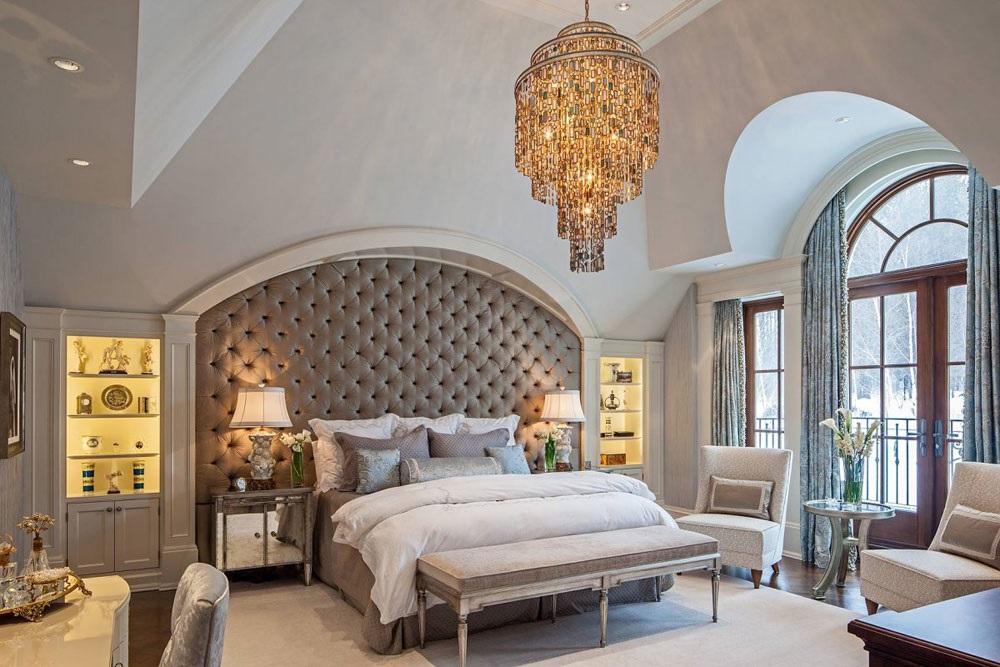 інтер'єр спальні в французькому стилі фото