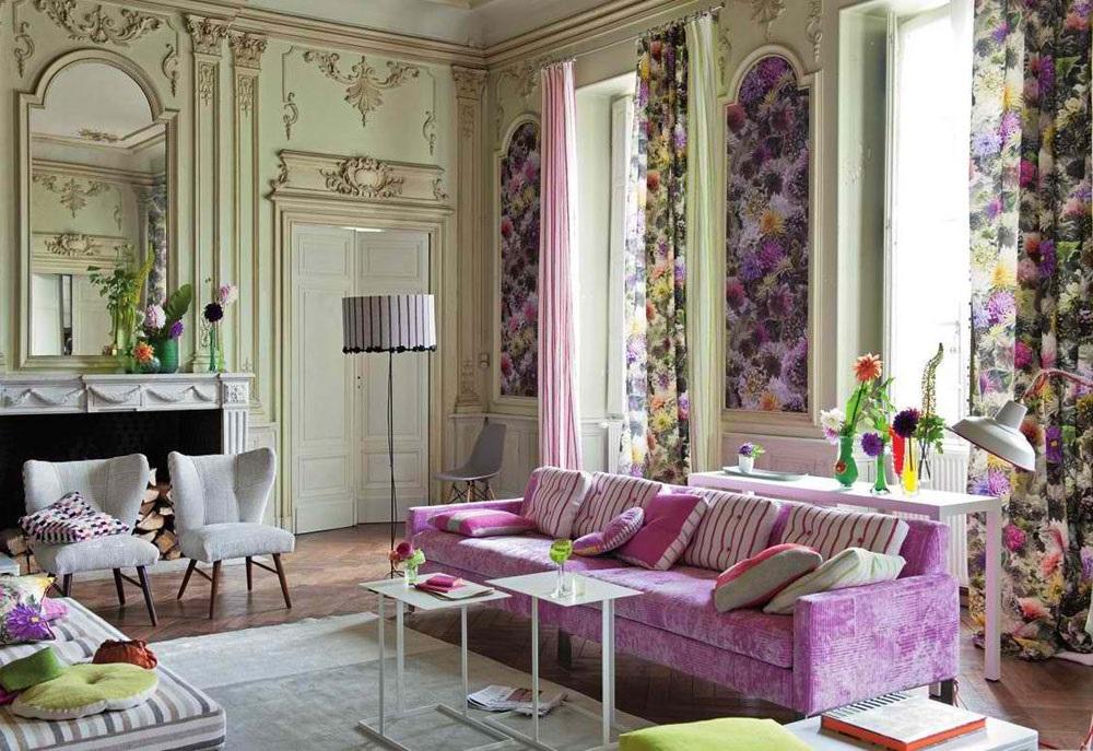 французький стиль в дизайні інтер'єру фото