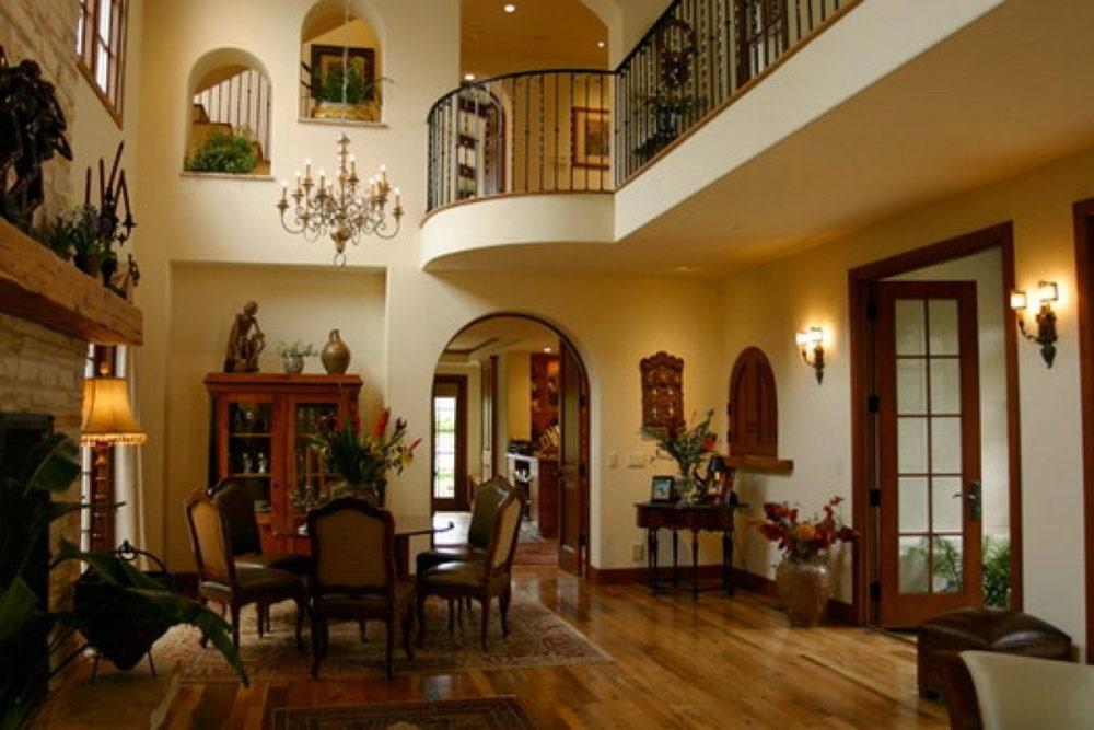 інтер'єр будинку в іспанському стилі фото