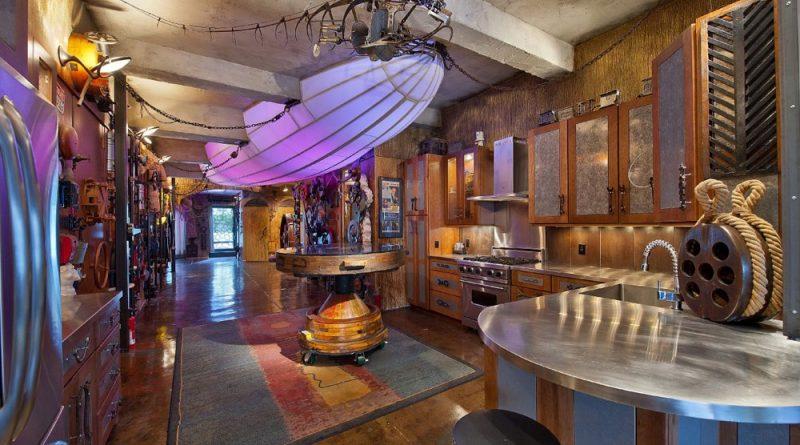 интерьер кухни в стиле стимпанк фото