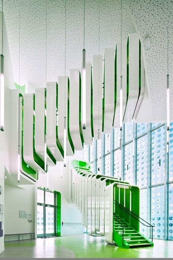сучасний дизайн сходів фото