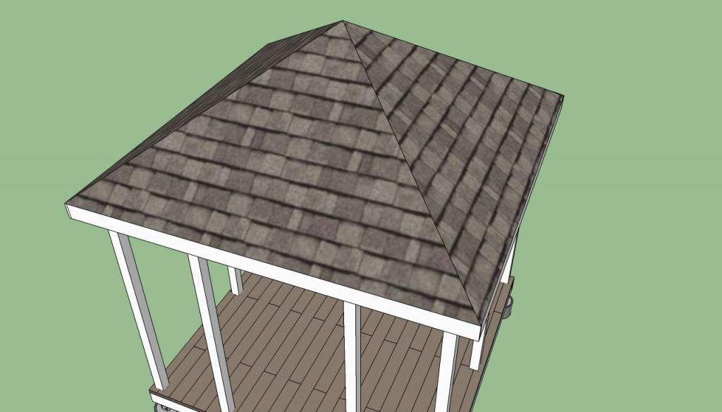 як правильно зробити дах альтанки