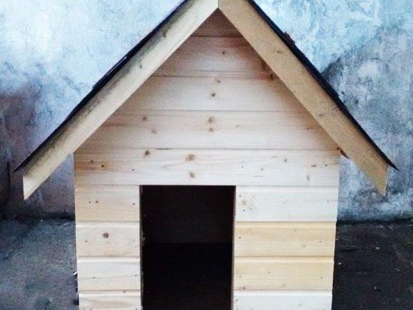 як зробити будку для собаки своїми руками